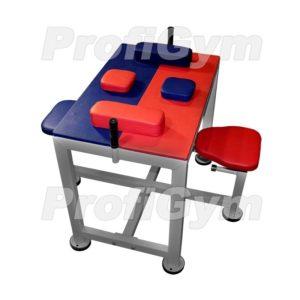 СтА-0020-H Стол для борьбы сидя разборный с подлокотниками