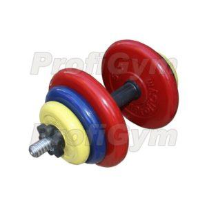 ГРЦ-20 Гантель разборная 20 кг цветная
