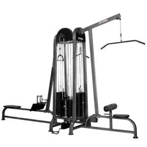 Четыресторониий грузоблочный тренажер 4 стека, МС-0020-С